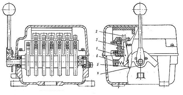 Схема Контроллера ККТ-60