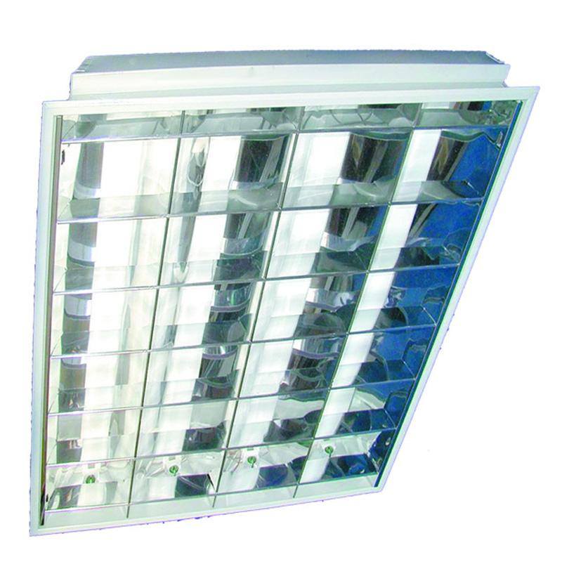 Наименование лпо 4х18-csvt мощность, вт 4х18 рассеиватель зеркальный размер светильника