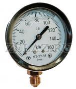 Манометр виброустойчивый МТ-2У глицериновый - фото
