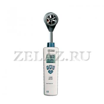 Анемометр цифровой DT-318 - фото