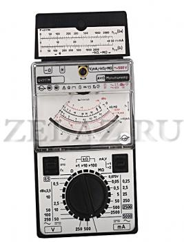 Ц4317М прибор измерительный - вид спереди