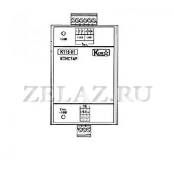 Блок электропитания К115-01 - фото