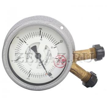 Дифманометр МДФ1-100 - вид сверху