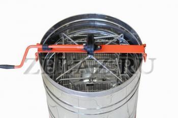 Медогонка с поворотом кассет 4-х рамочная нержавеющая - фото