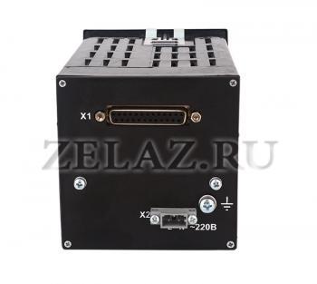Микропроцессорный регулятор МИК-25 - вид сзади