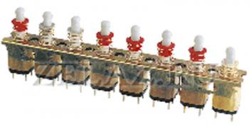 Переключатели модульные кнопочные ПКн63 - фото