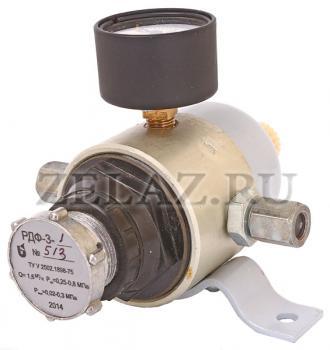 Редуктор давления с фильтром РДФ-3 (общий вид)