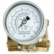 Манометр дифференциального давления 732.15.100 - фото