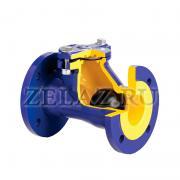 Клапан обратный фланцевый арт. 400 ZETKAMA - фото