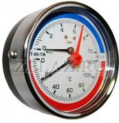 Термоманометры осевые МТ–80–ТМ-О - фото