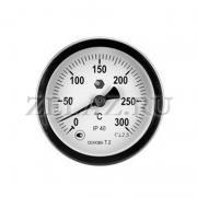 Термометр D63мм/L100мм-О - фото