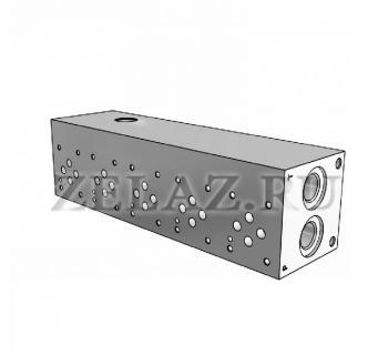Плита гидравлическая монтажная 5 секции DN06 фото 1
