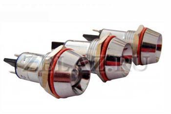 Фото арматуры светосигнальной AD22C-16 красной