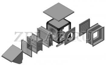 Аксессуары к вентилятору с ЕС-двигателем Канал-КВАРК-КП-ЕС фото 1