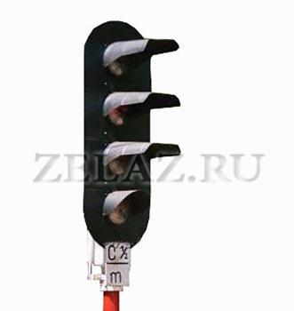 Мачтовые линзовые светофоры - фото