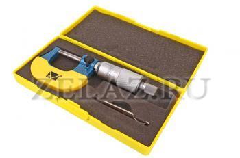 Микрометр гладкий  МКПТ-25 - полная комплектация