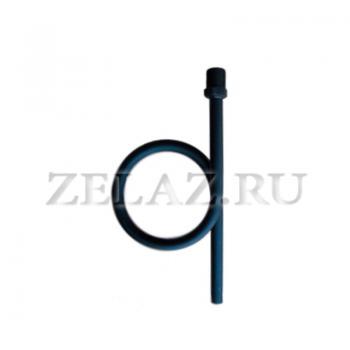 Отвод сифонный прямой, наружная G1/2-под приварку - фото