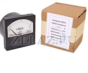 Амперметр Э8033 с упаковкой - фото