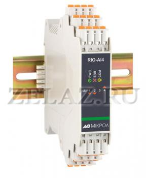 Модуль аналогового ввода RIO-AI4  - фото